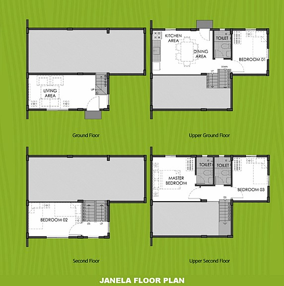 Janela Floor Plan House and Lot in Batangas City