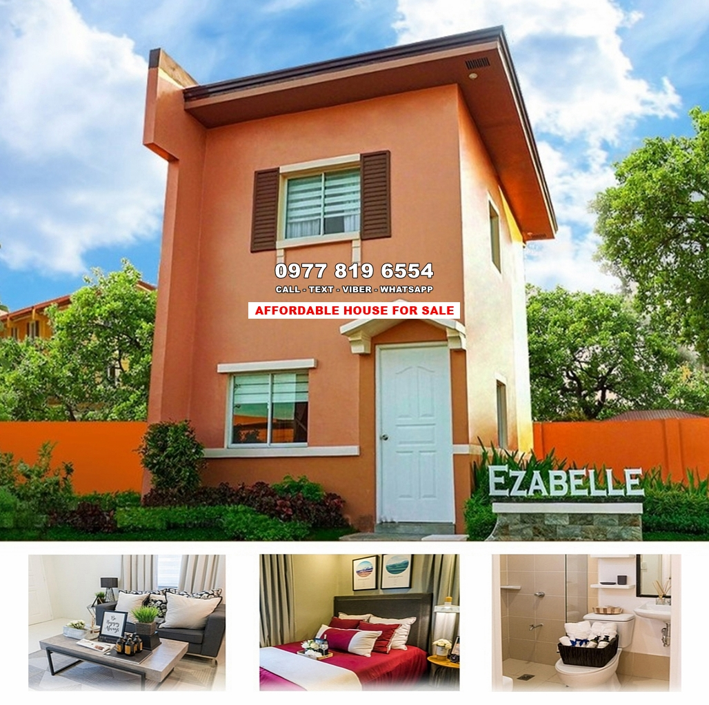 Ezabelle House for Sale in Batangas City