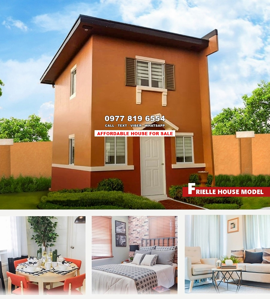 Frielle House for Sale in Batangas City