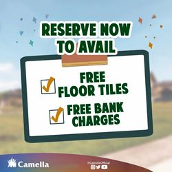 Promo for Camella Batangas City.